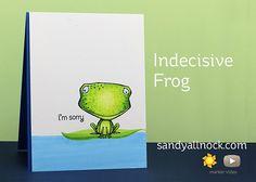Sandy Allnock Indecisive Frog