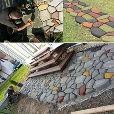 Tutorial How To Make A Walkway Or Patio Using The