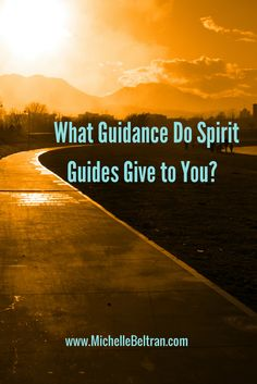 Find out what guidance Spirit Guides give to you from top psychic development classes mentor, Michelle Beltran: http://www.michellebeltran.com/what-guidance-do-spirit-guides-give-to-you/