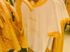 """""""i'm not going to spend any money"""".... $200 later//pin @ayyeshayy #Yellow #Aesthetic #Clothing #Style"""