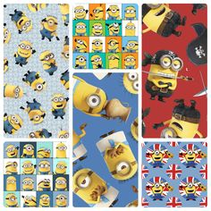 New! Minions by Quilting Treasures. Distributed in Canada by International Textiles. #fabric #quilting #sewing