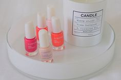 Gel Effect Nail Polishes by blogger @Mona's Daily Style #lumene