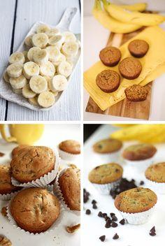 Receita Light da Semana | Muffin de Banana sem açúcar, lactose e glúten | Território Animale