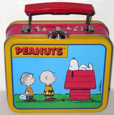 Peanuts Metal Lunch Box Wow, I had this one too!