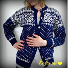 Dale 2357 Norwegian Knitting Designs, Crochet Pillow Cases, Fair Isle Knitting, Country Outfits, Knit Or Crochet, Vintage Knitting, Jumpers For Women, Diy Clothes, Knitwear