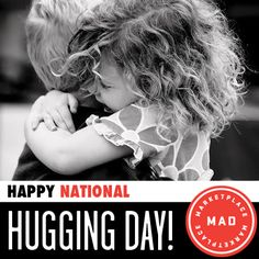 Hugs are loving. Hugs are therapeutic. Hugs are caring and hugs are celebratory! Happy National #HuggingDay! Today is a great opportunity to give and to receive - give a hug, and you automatically receive one in return.. What a great holiday to celebrate!!!