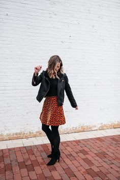 Fashion Look Featuring Madewell Plus Skirts and Sam Edelman Boots by mykindofsweet - ShopStyle Nye Outfits, Fashion Outfits, Womens Fashion, Style Fashion, Mom Fashion, Night Outfits, Party Fashion, Skirt Outfits, Skirt Fashion