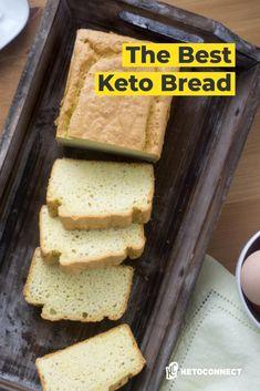 The most popular keto bread recipe on the internet! Best Low Carb Bread, Lowest Carb Bread Recipe, Almond Recipes, Bread Recipes, Low Carb Recipes, Sugar Free Low Carb Recipe, Low Carb Flatbread, Keto Friendly Bread, Comida Keto