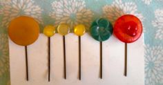 Homemade Mamas: Buttons & Bobby Pins - now I know what to do with my giant button stash!