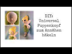 Freie Häkelanleitung: Frühlingsfee Amigurumi-Puppe häkeln – Flauscheinhorn Teddy Bear, Toys, Youtube, Animals, Baby, Dolls, Amigurumi, Elf, Diy
