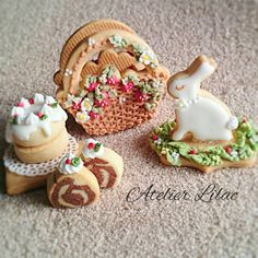 (^o^) C is for Cookie (^o^) ~ Atelier Lilac ~ rabbit ~strawberry basket