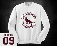 Liam Dunbar 09 Teen Wolf Sweatshirt Lacrosse Jumper by LogitecShop