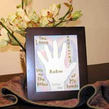 Personalized Cross Stitch Names Vbs 2016, Names With Meaning, Inspirational Gifts, Cross Stitch Designs, Gifts For Family, Joyful, Custom Framing, Bible Verses, Blessings