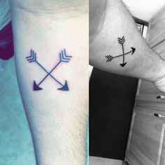 My new tattoo. It means friendship. #tattoo #friendship #arrows