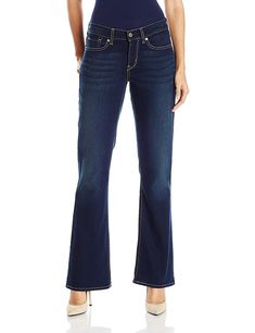 7d8a7bfe90b Signature by Levi Strauss   Co Women s Curvy Boot Cut Jeans