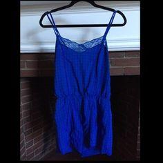H&M Blue Romper/Jumpsuit.