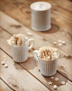 Hot chocolate and mallows