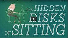 6 raisons pour lesquelles s'asseoir est une mauvaise habitude