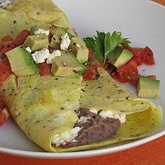 from popsugar food black bean omelet fresh starts black bean omelet ...