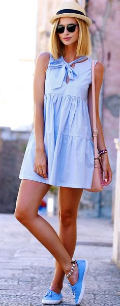 #fall #street #style | Shades Of Blue
