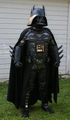 Batman + Darth Vader = The Darth Knight [Cosplay] ~ The Geek Twins