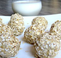 Rezepte mit Herz ♥: Protein Bällchen - Eiweiß Bomben