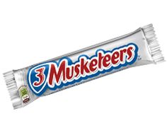 3 Musketeers Bar 36 Count Three may be a crowd, but you can never have too many of these delectable treats. And with 36 of Mars&rsquo. Three Musketeers your sweet tooth will jump for joy! These rich a