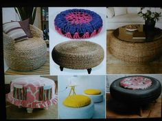 Cool recycled tire ideas