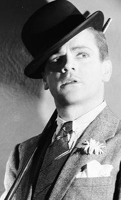 James Cagney, 1931. Siempre será recordado por sus papeles de tipo duro.