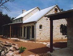Hill Country Home by Ridgemark Custom Homes in Frederickburg, TX.