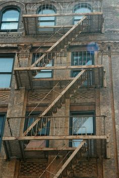 New York City, Fire Escape Stairs