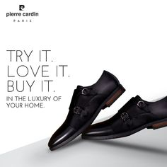 #pierrecardin #menstyle #menshoes #shoppingonline #onlineboutique #madeinindia #monkshoes #black #menfashion #shoesformen