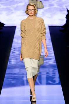 80b63bbb79 A look from Max Mara s fall 2015 collection. Photo  Imaxtree Boyfriend  Sweater
