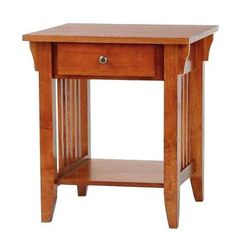 craftsman end table | custom craftsman style end table | end