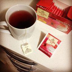 Hibiscus Tea - Rich in Vitamin C  http://steuartstea.com.au?utm_content=buffer7a21e&utm_medium=social&utm_source=pinterest.com&utm_campaign=buffer  #t #tea #tealove #tealife #HerbalTea #SteuartsTea #hot