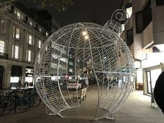 The Christmas festivities are getting underway in Hatton Garden with this new bauble light Hatton Garden, Jewellery Quarter, Bauble, Christmas Shopping, Fair Grounds