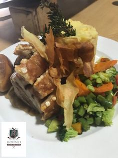 Served with a smile.from the Hound and our customers. Bistros, Pork Belly, South Africa, Beef, Smile, Food, Hands, Meat, Essen