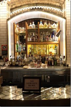 Cocktail bar, Palmer & Co. Sydney