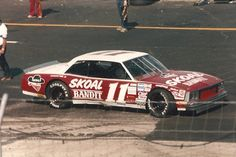 Jack Ingram's Malibu 1987 @ IRP Nascar Cars, Nascar Racing, Auto Racing, Late Model Racing, Terry Labonte, Classic Race Cars, Chevrolet Monte Carlo, Old Race Cars, Car Pictures