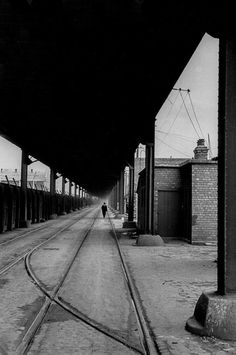 Marc Riboud. Liverpool, 1954