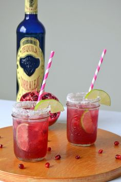Tattooed Martha - Pomegranate Margaritas