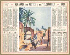 Almanach des Postes 1927