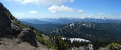 The view just below the east side of the summit of Mount Angeles. Photo by nwroth.