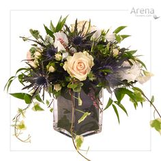 Top Table Arrangement  http://www.arenaflowers.com/weddings/wedding_flowers_bouquets/wedding_table_decor# #wedding #tablearrangement