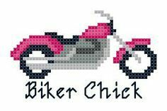 Hama Beads Patterns, Beading Patterns, Cross Stitch Designs, Cross Stitch Patterns, Harley Davidson, Seed Bead Crafts, Cross Stitch Beginner, Tambour Embroidery, Cross Stitch Pillow