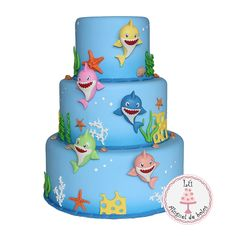 Bolo Fake, Bolo Da Minnie Mouse, Fake Baby, Moon Party, Baby Shark, Cannon, Biscuit, Princess Peach, Cake Decorating