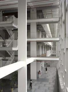 Ewha Womans University / Dominique Perrault Architecture