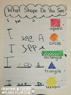 Crayons & Cuties In Kindergarten: Interactive Writing