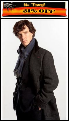 Halloween Haunting Sale! Sherlock Holmes Coat in Wool Cape available on #NewAmericanJackets Store with Easy Exchangeable and Refundable guarantee.  For more detail Visit: >   #SherlockHolmes #Sherlock #Coat #Longcoat #hollywood #celebrity #Supermanfan #onlineshopping #MenFashion #fashionvictim #onlineclothing #newcollection #newstuff #premium #highquality #cheapprice #firsthandsupplier #trustedseller #menswear #Sale #seriousbuyer #fall #falljacket #rainjacket #fallcoat