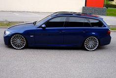 bmw blue e91 touring - wheels